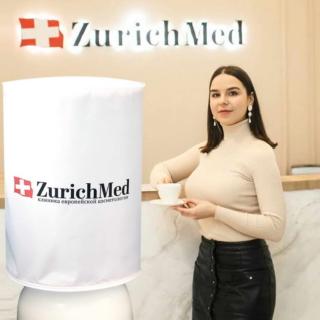 Чехол с логотипом для клиники ZurichMed