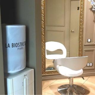 Чехол с логотипом салона красоты LA BIOSPHETIQUE