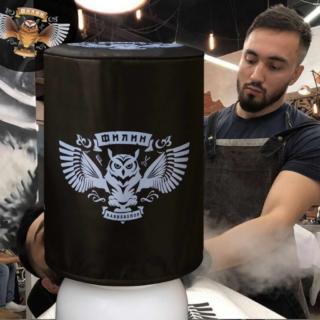 Чехол с логотипом барбершопа ФИЛИН